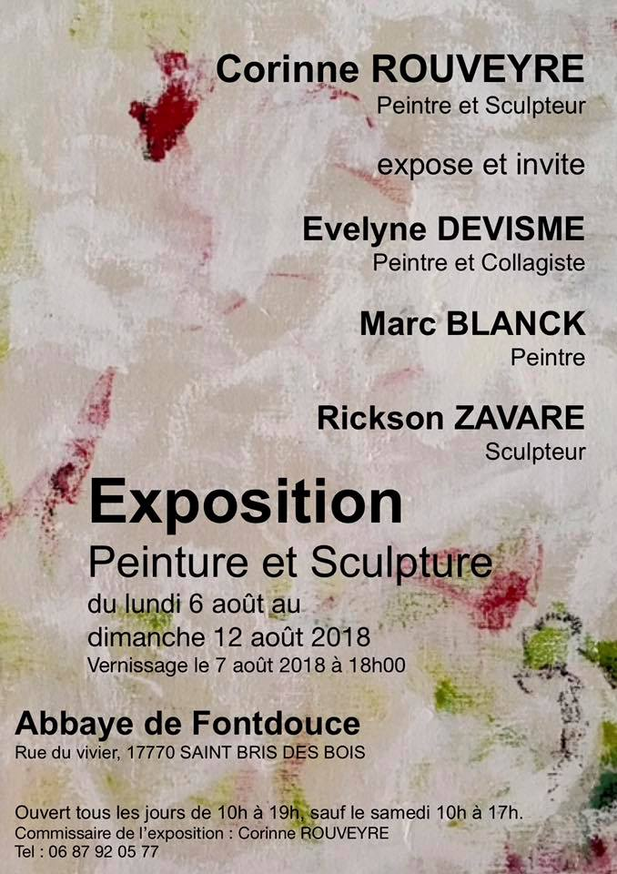CR expo Fontdouce aout2018
